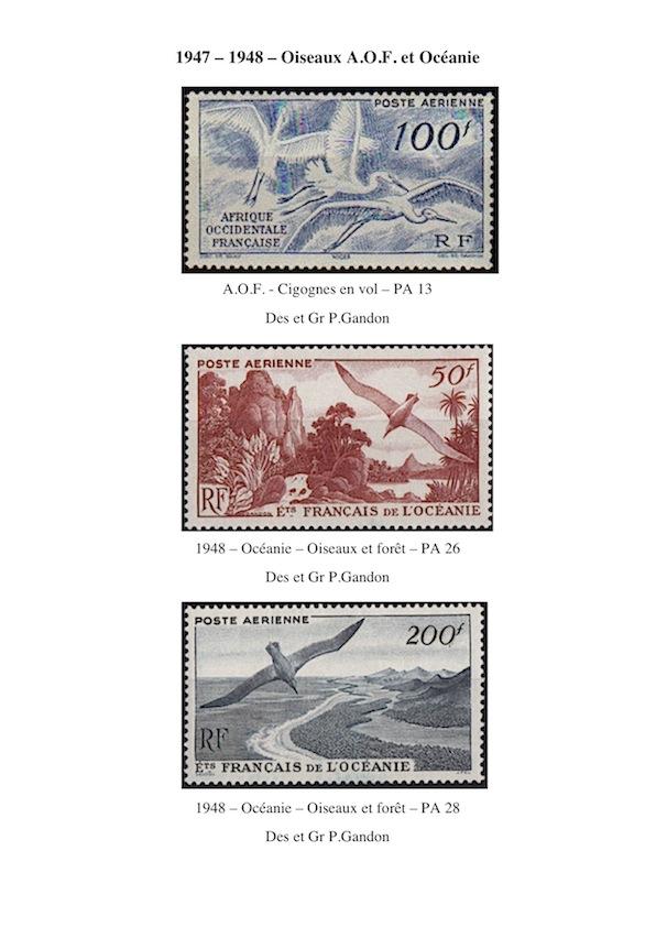 1947 1948 oiseaux