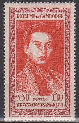 1951 norodom sihanouk cambodge