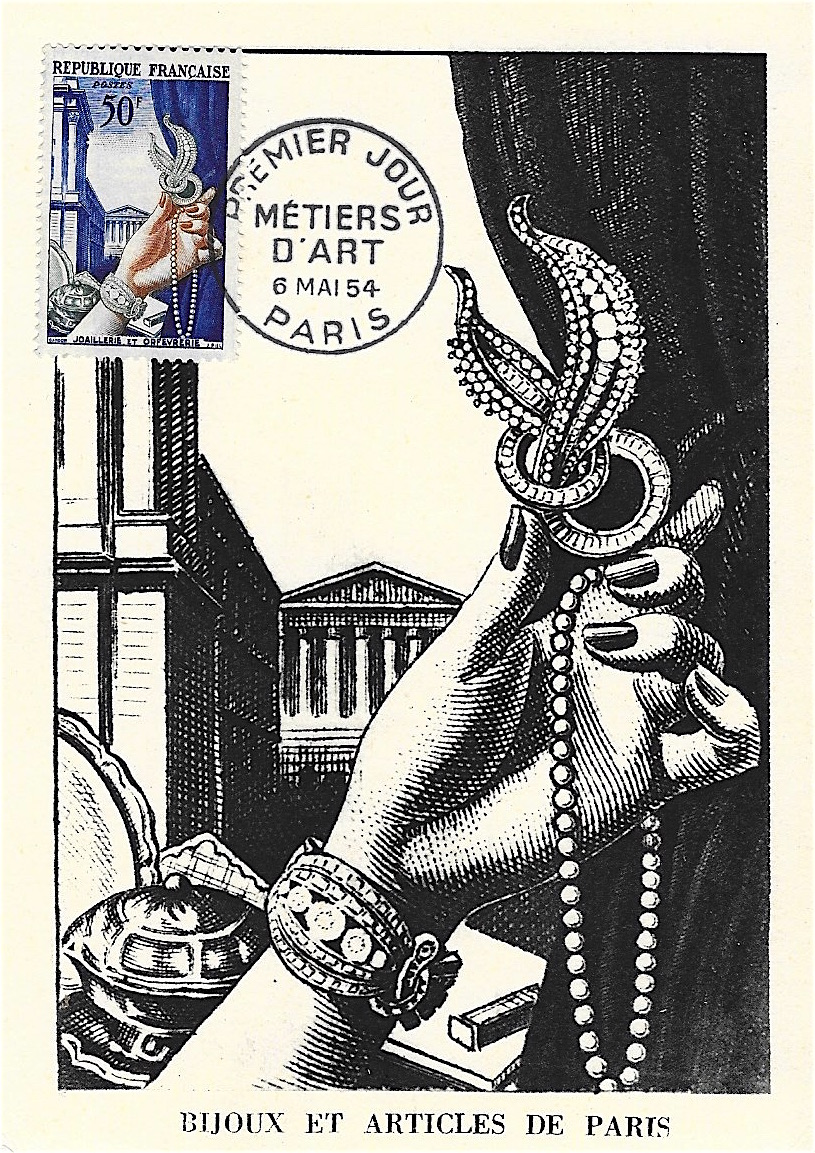 1954 joaillerie