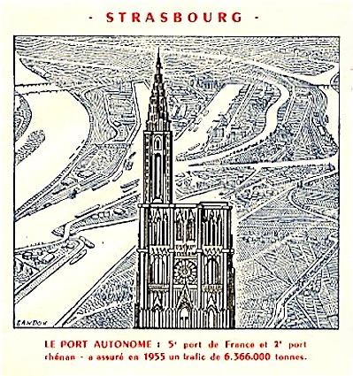 1954 port de strasbourg