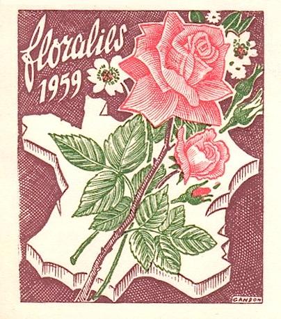 1959 floralies de paris