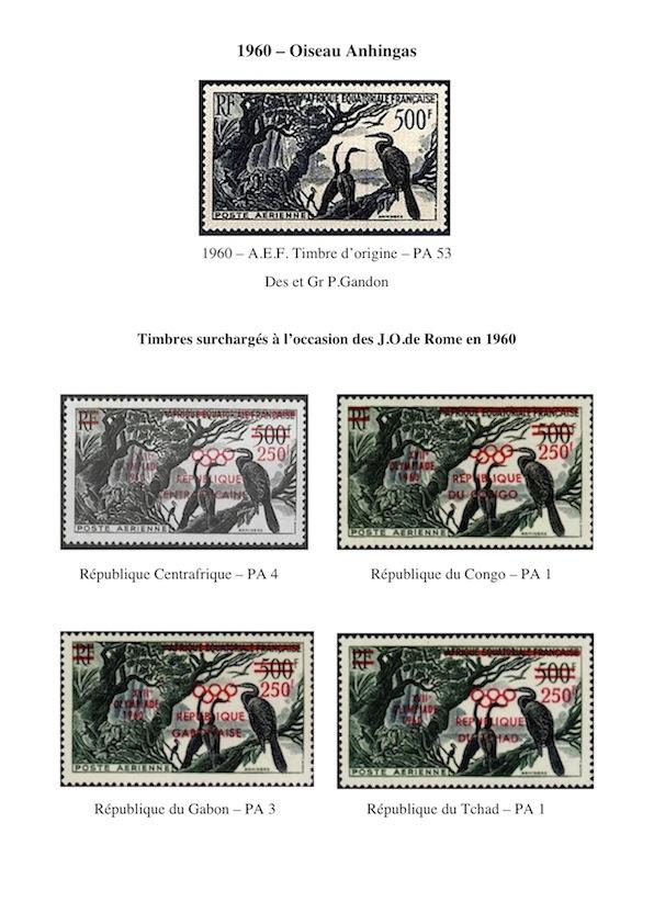 1960 oiseau anhingas