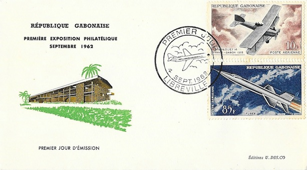 1962 gabon avions 1