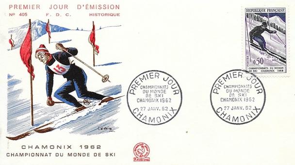 1962 slalom ski