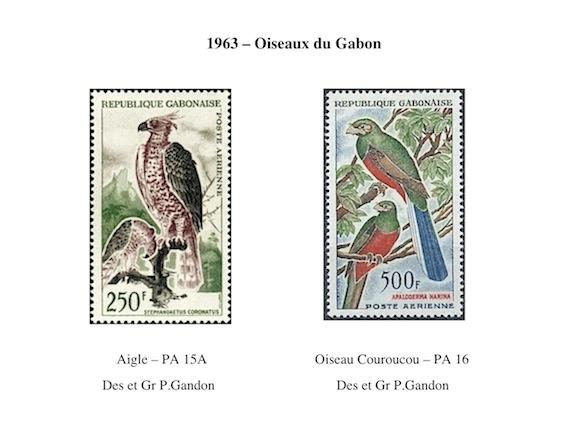 1963 oiseaux du gabon