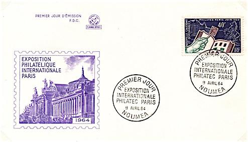 1964 philatec nouvelle cale donie