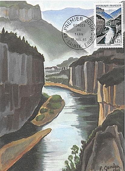 1965 gorges du tarn