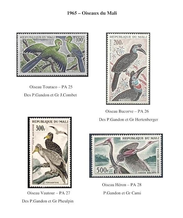 1965 oiseaux du mali
