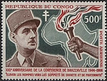 1966 de gaulle congo pa38