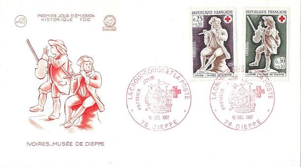 1967 croix rouge