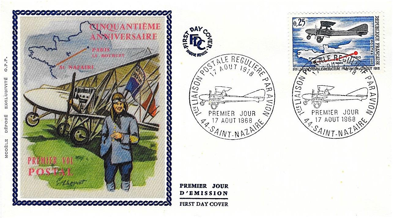 1968 liaison postale