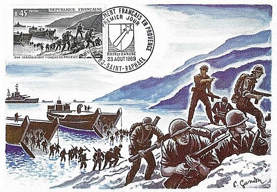 1969 de barquement en provence