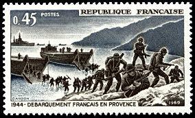 1969 debarquement provence