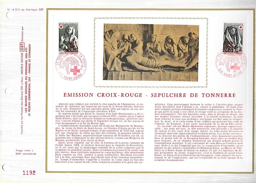 1973 croix rouge
