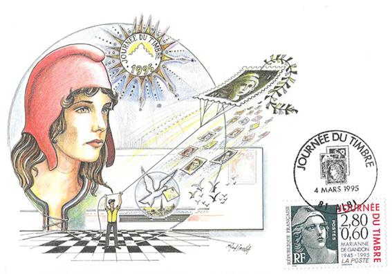 1995 centenaire marianne gandon 1