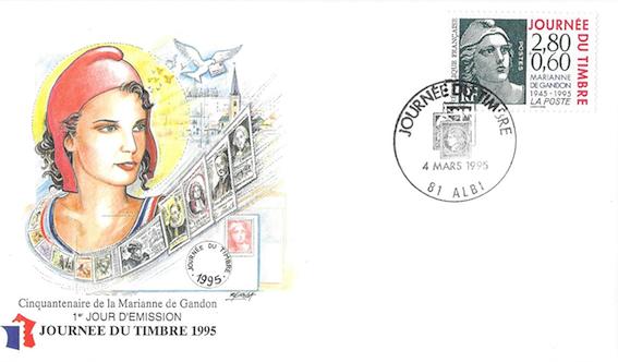 1995 centenaire marianne gandon