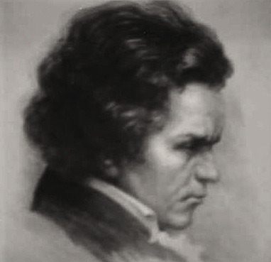 Beethoven lithographie nb