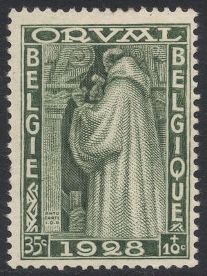 Belgique 1928 yt be260