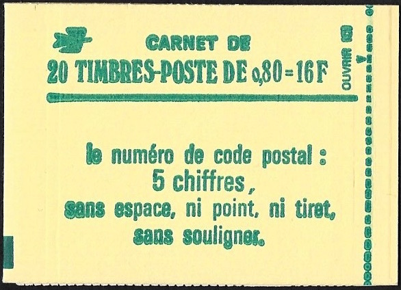 Carnet sabine a 0 80f