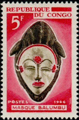 Congo 199 masque balumbu