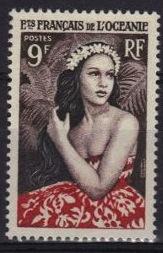 Jeune fille de bora bora