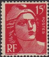 Marianne 15f faux de marseille