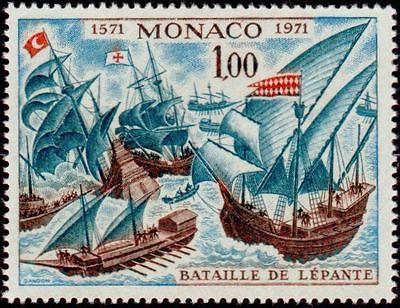 Monaco bataille de lepante yt 870