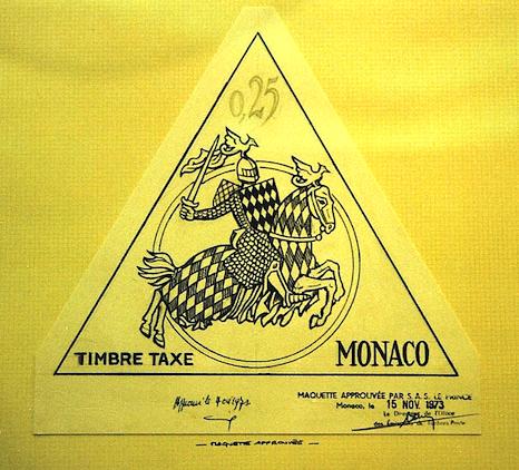 Monaco maquette taxe
