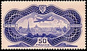 Pa avion survolant paris