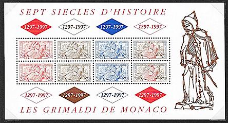 Sceau de monaco 1997